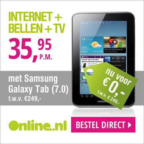 Online gratis tablet