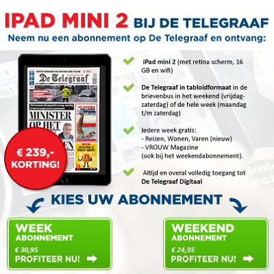 Telegraaf-gratistablet