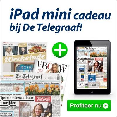 iPad-actie-telegraaf